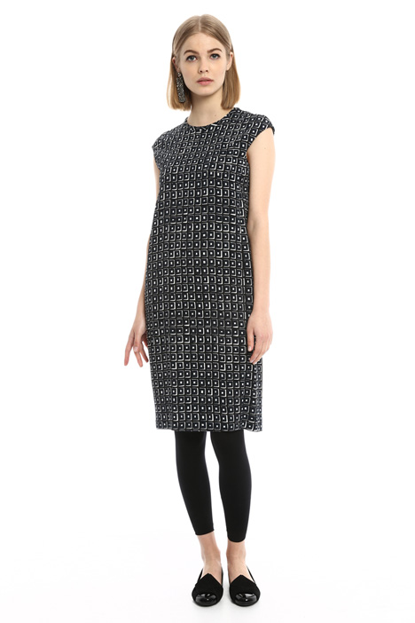 Geometric pattern dress Intrend