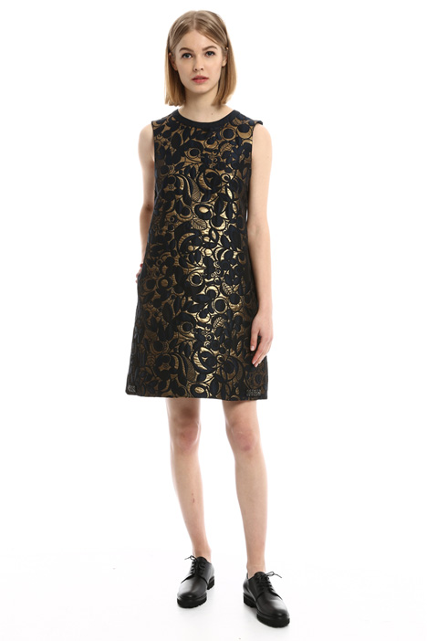 A-line jacquard dress Intrend