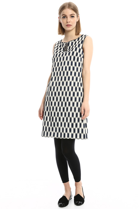 A-line bijou dress Intrend