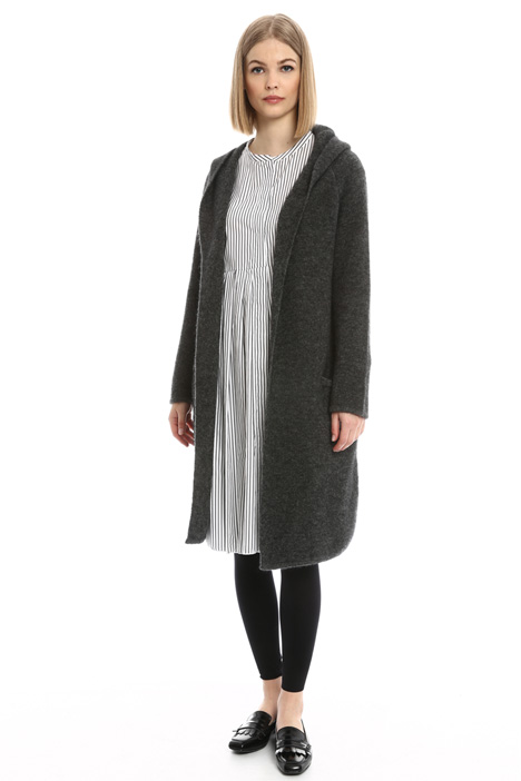 Oversized mohair cardigan Diffusione Tessile