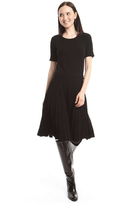 Viscose knitted dress Diffusione Tessile