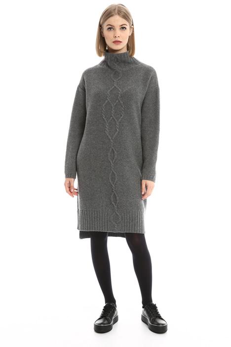 Abito in maglia in misto lana Diffusione Tessile