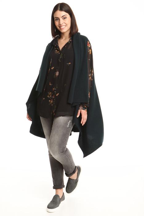 Long cashmere vest Diffusione Tessile