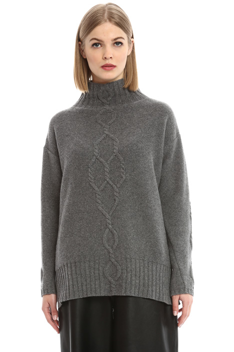 Dropped shoulder sweater Diffusione Tessile