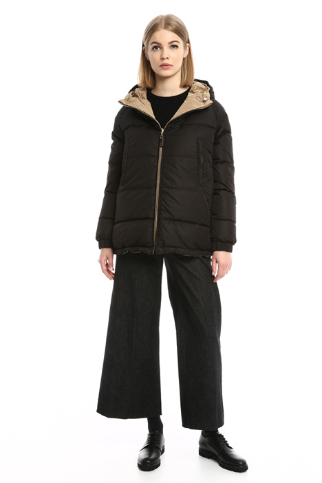 Short reversible down jacket Diffusione Tessile