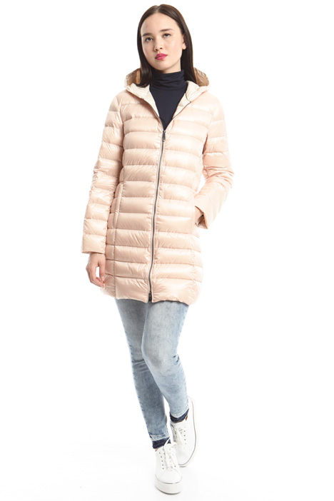Technical quilted down coat Diffusione Tessile