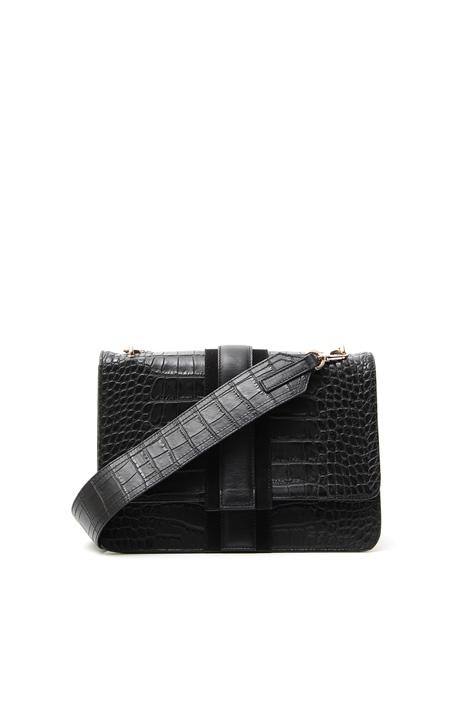 Crocodile print bag Diffusione Tessile