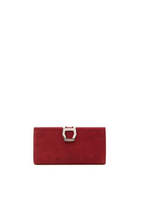Suede clutch Intrend