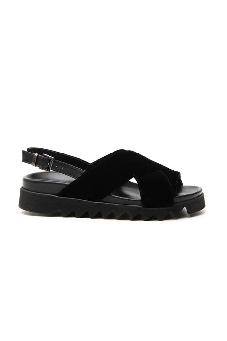 Velvet sandals Diffusione Tessile