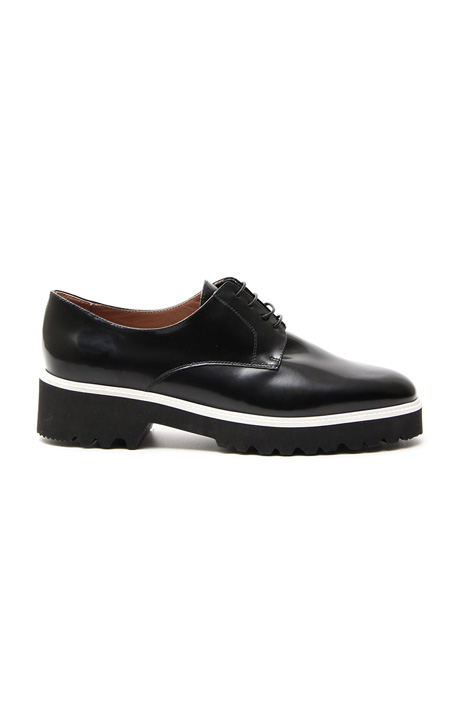 Leather derby shoes Diffusione Tessile