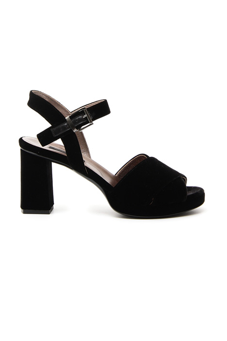 Sandalo in velluto  Diffusione Tessile