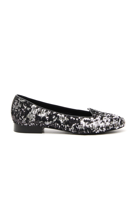 Sequin slip-on loafer Intrend