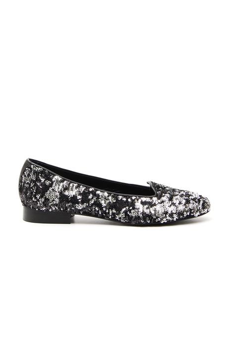 Sequin slip-on loafer Diffusione Tessile