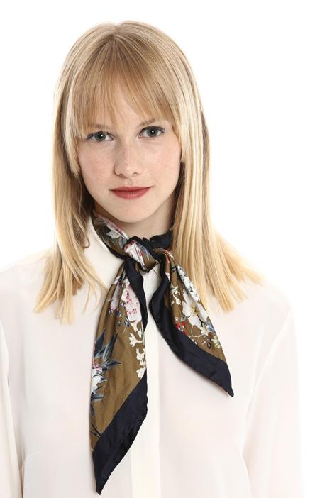 Pure silk foulard Diffusione Tessile