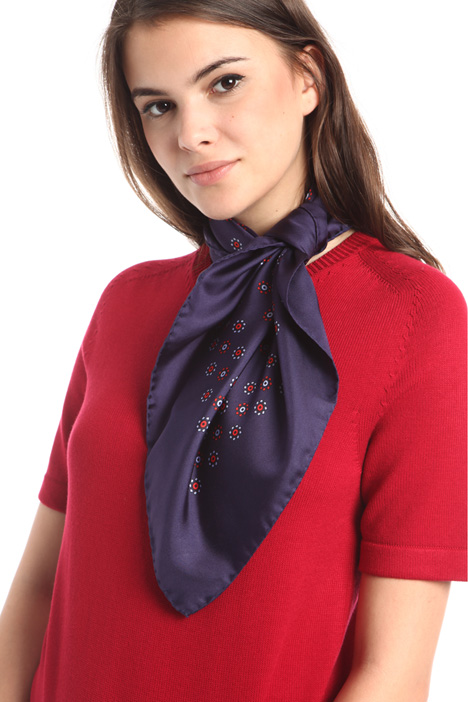 Silk satin foulard Intrend