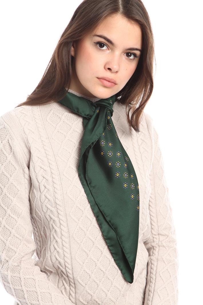 Foulard in raso di seta Diffusione Tessile