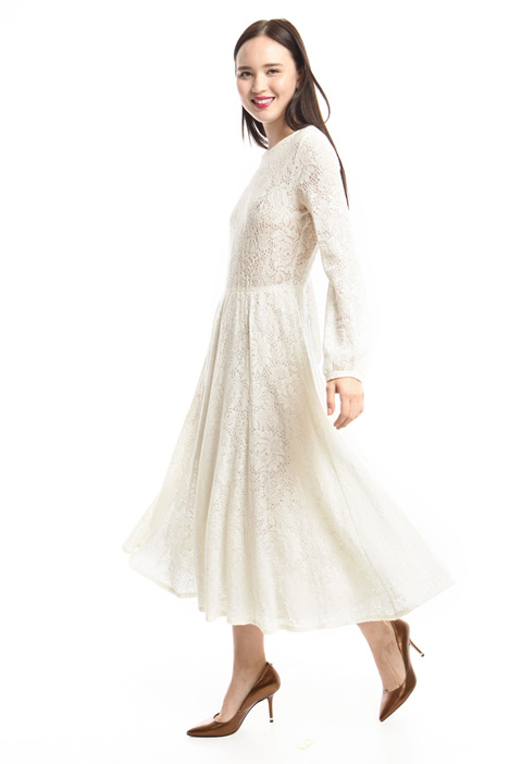 Lace-effect jersey dress Intrend