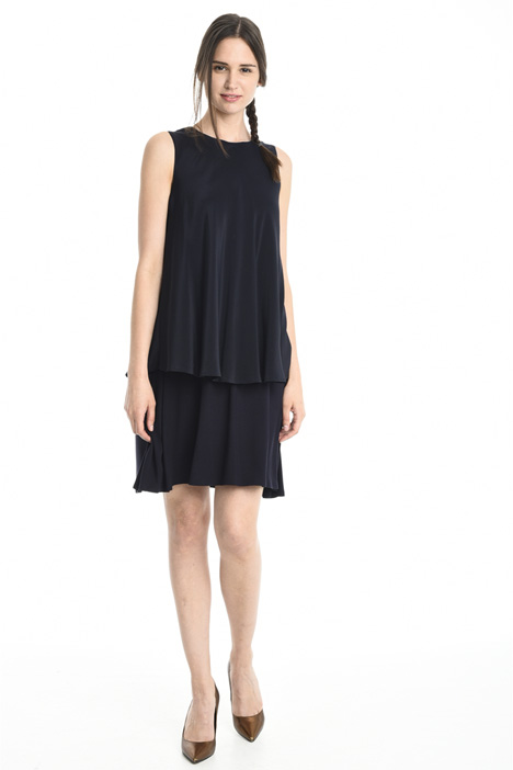 Layered sleeveless dress Intrend