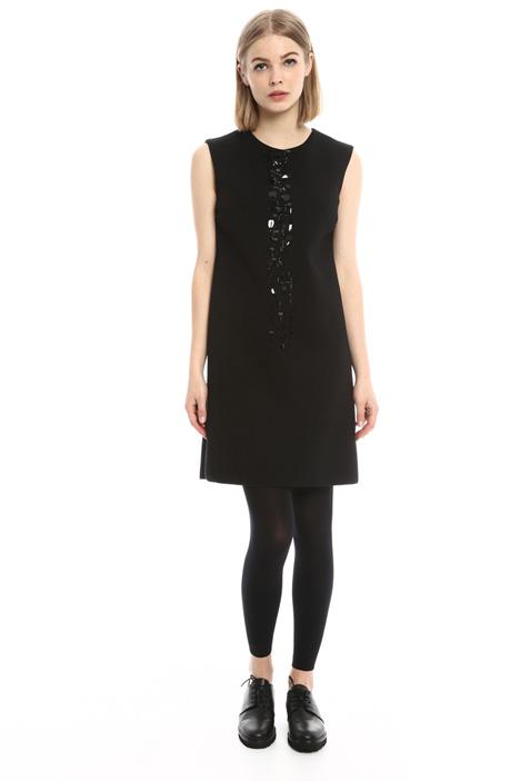 Jersey dress with bijou Intrend