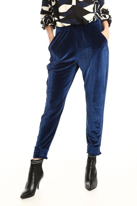 Pantaloni jogging in ciniglia Diffusione Tessile