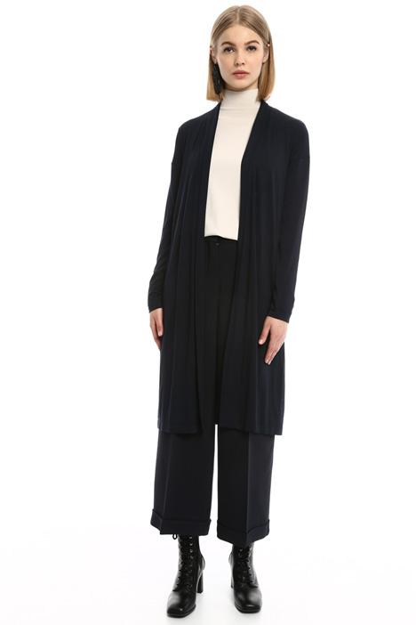 Cardigan lungo in jersey Diffusione Tessile
