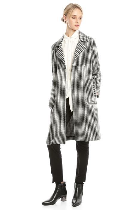 Jacquard jersey coat Diffusione Tessile