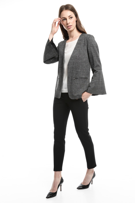 Printed jersey jacket Diffusione Tessile