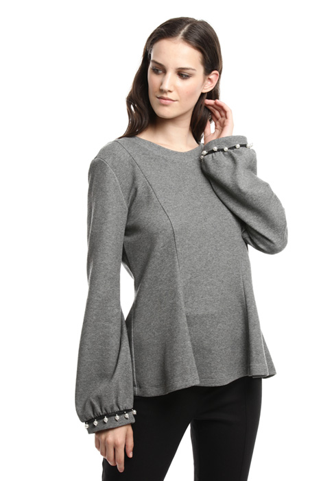 Pique jersey sweatshirt Diffusione Tessile