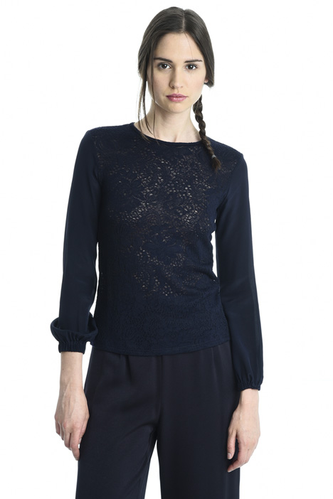 Lace-effect sweater Intrend
