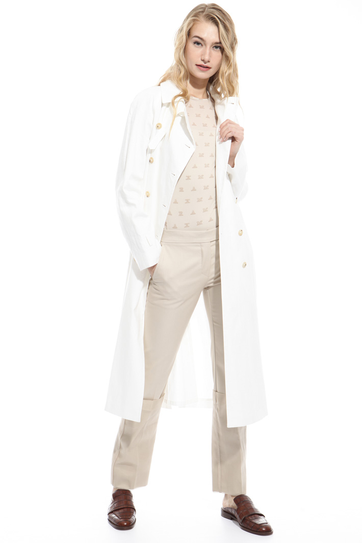 Pure linen trench Intrend