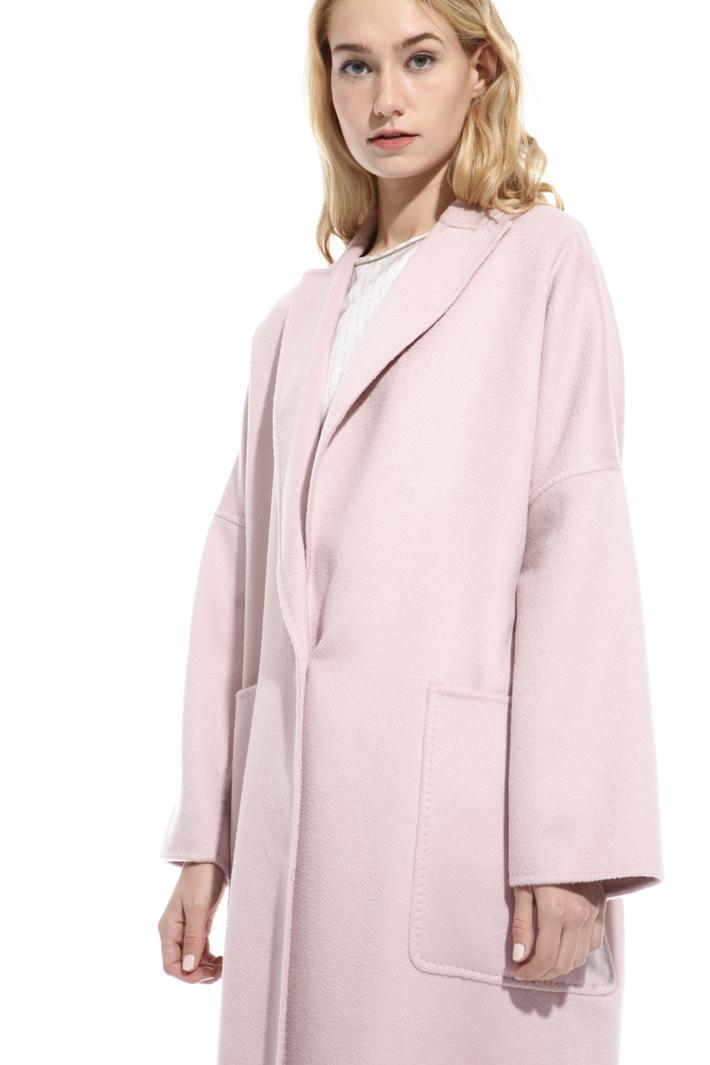 Oversized drap coat Diffusione Tessile