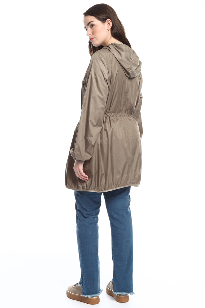 Lightweight canvas rain coat Intrend