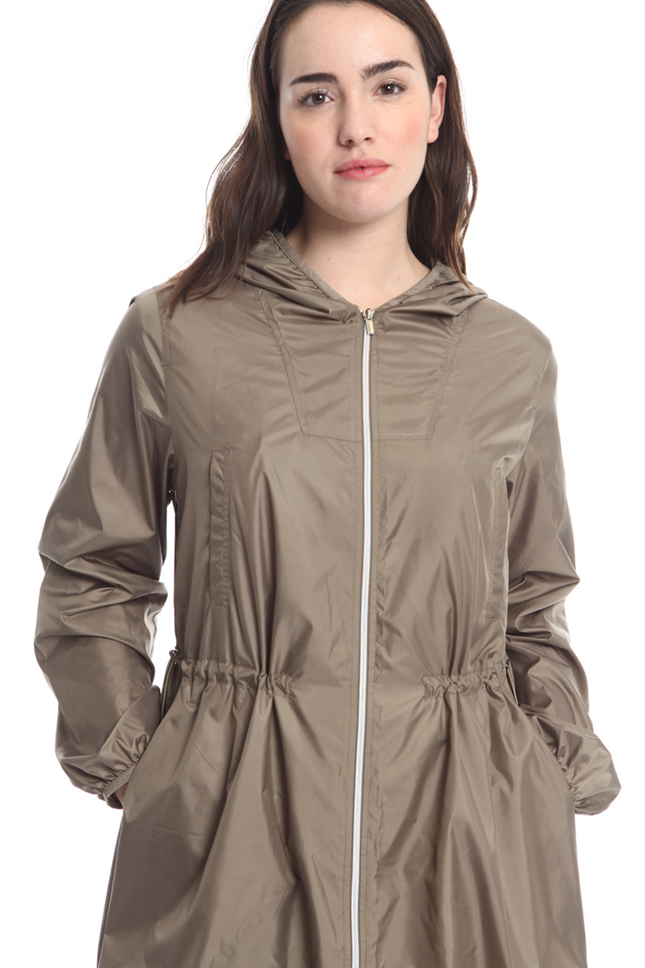 Lightweight canvas rain coat Diffusione Tessile