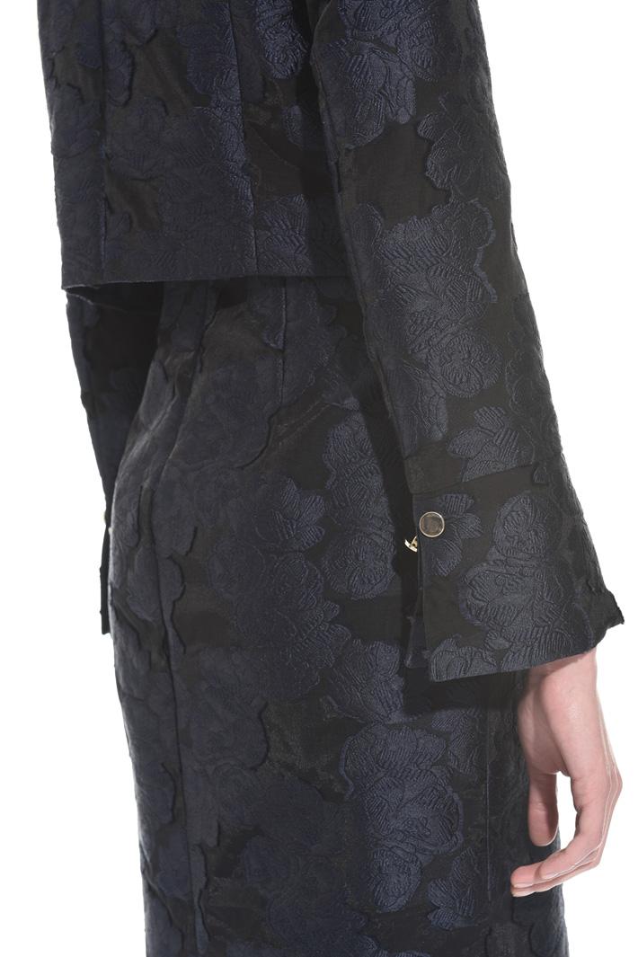 Fil coupé organza jacket Intrend