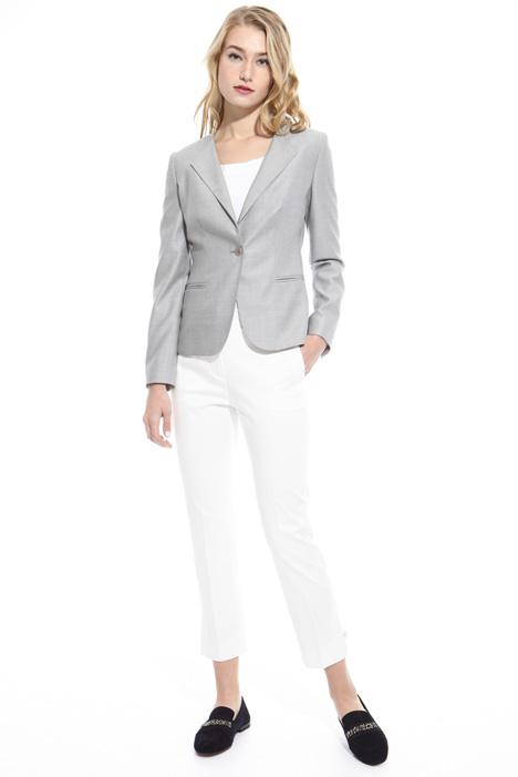 Wool and silk blazer Diffusione Tessile