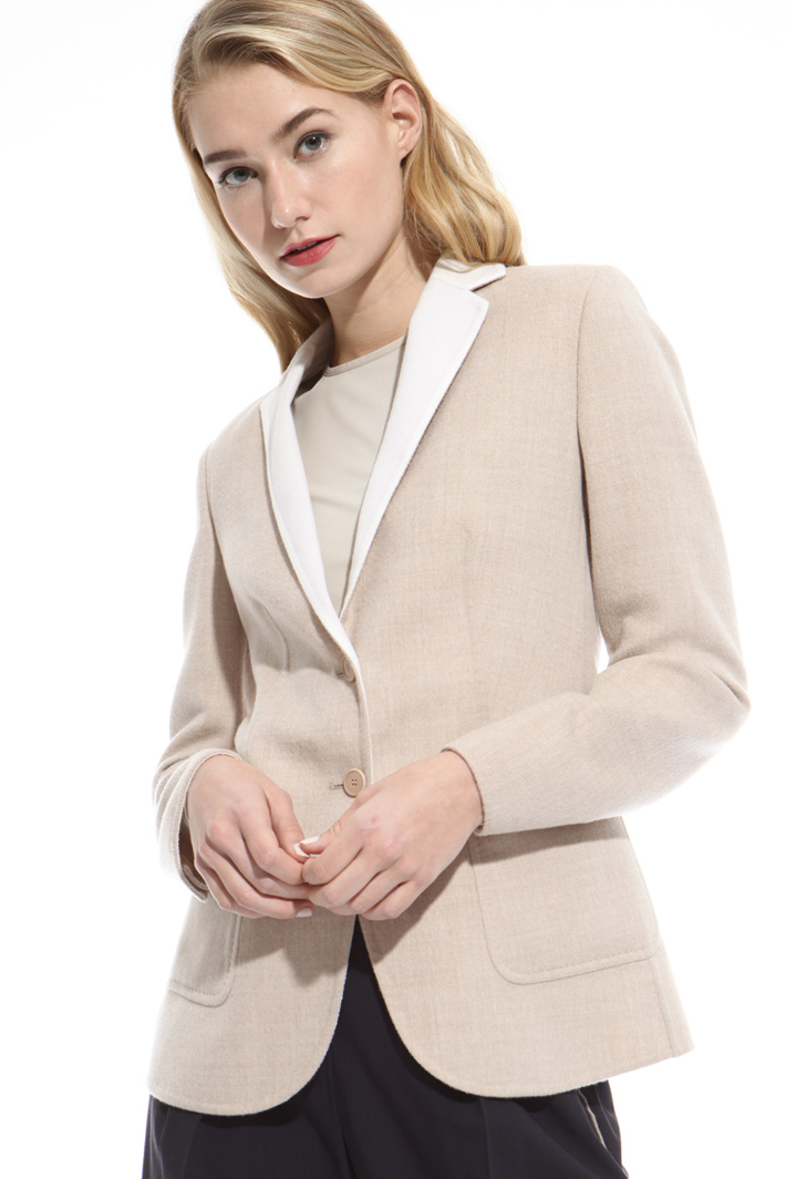 Pure wool short coat Diffusione Tessile