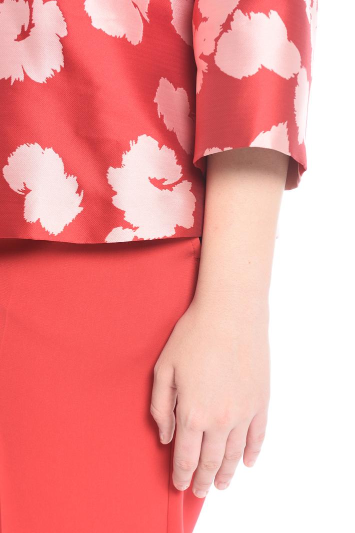 Jacquard motif jacket Diffusione Tessile
