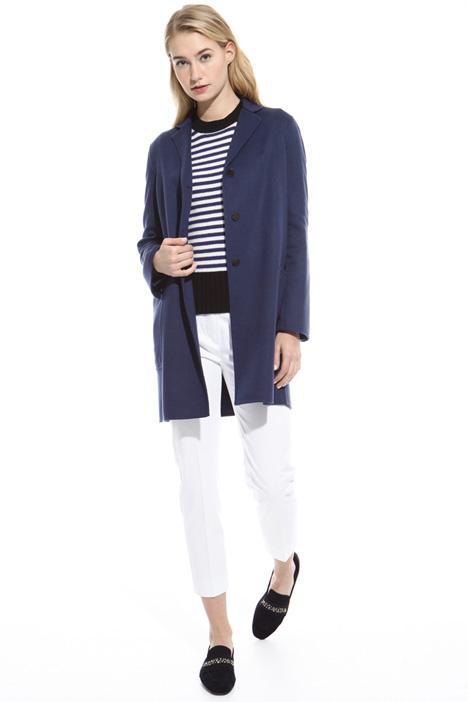 Cashmere drap coat Diffusione Tessile
