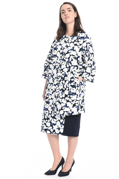 Printed cady duster coat Diffusione Tessile