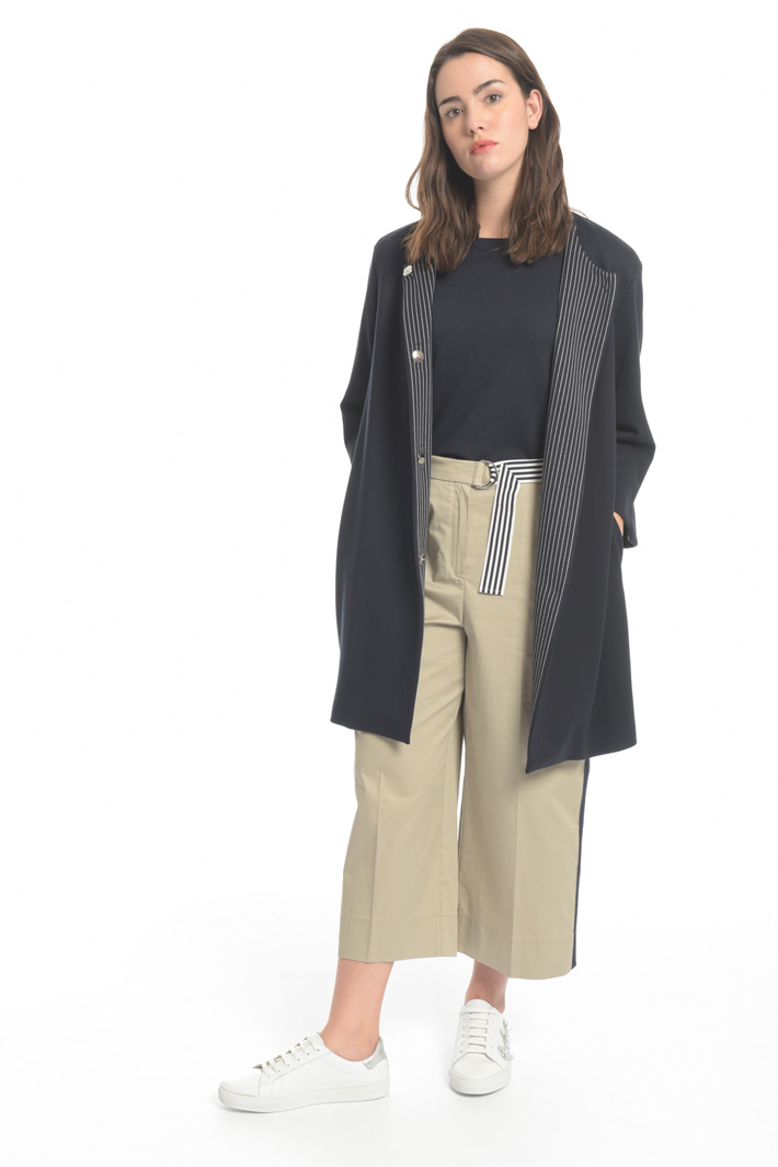 Jersey duster coat Intrend
