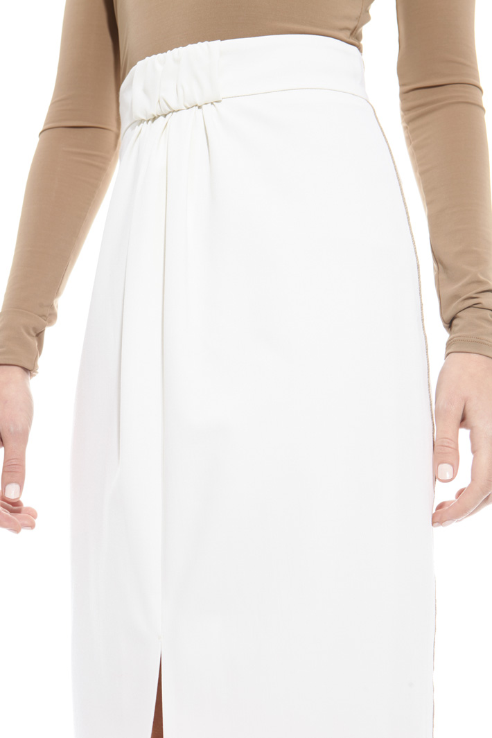Draped skirt Intrend