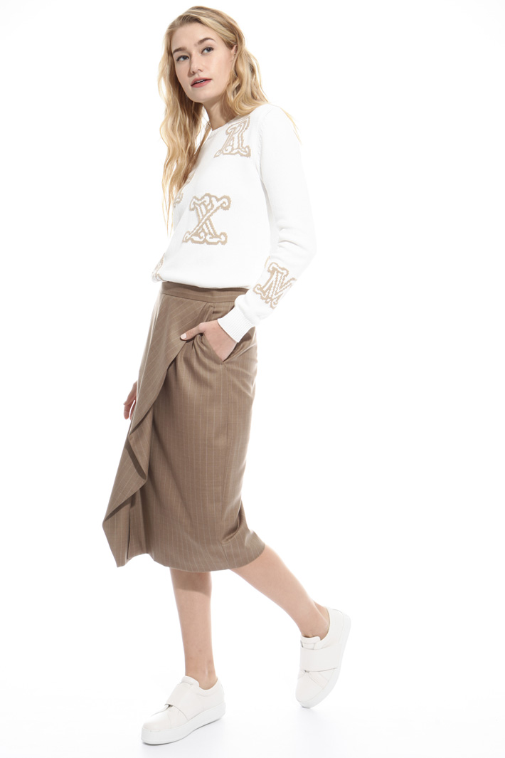 Flounced edge skirt Intrend