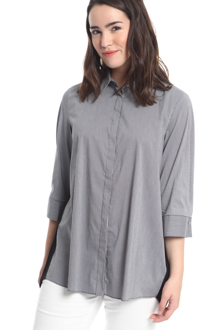 Stretch cotton shirt Diffusione Tessile