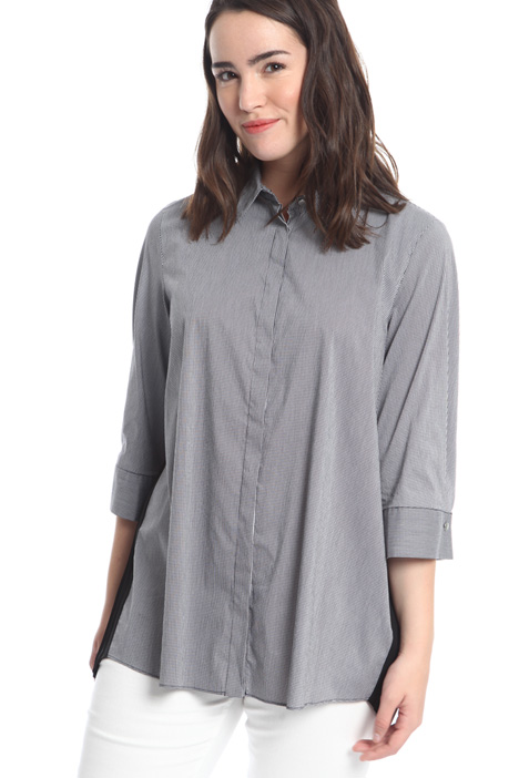 Stretch cotton shirt Diffusione Tessile