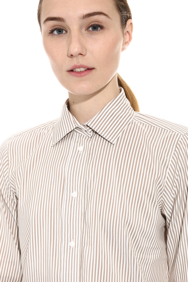 Silk and cotton shirt Diffusione Tessile