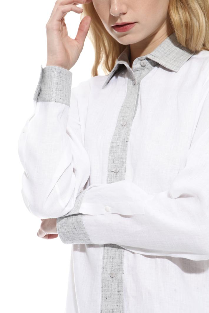 Lightweight linen shirt Diffusione Tessile