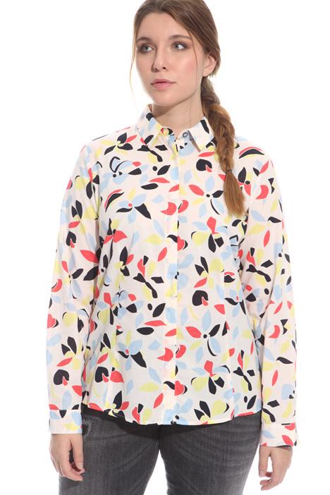 Camicia in mussola di cotone