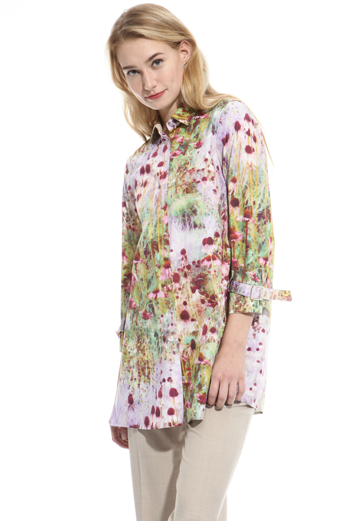 All-over print shirt Intrend