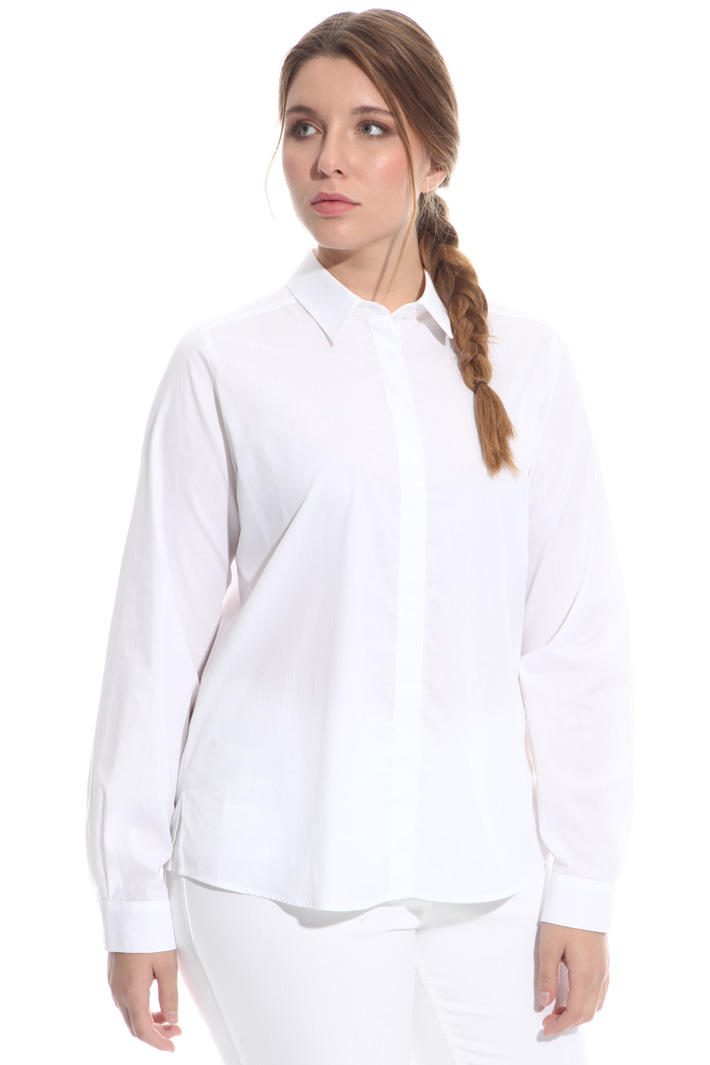 Basic shirt in cotton Diffusione Tessile
