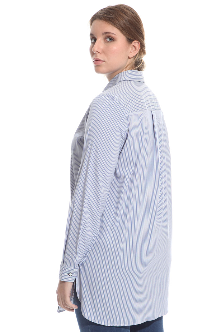 Frill trim shirt Intrend